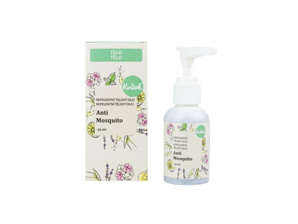 Repelentní tělový olej Anti Mosquito