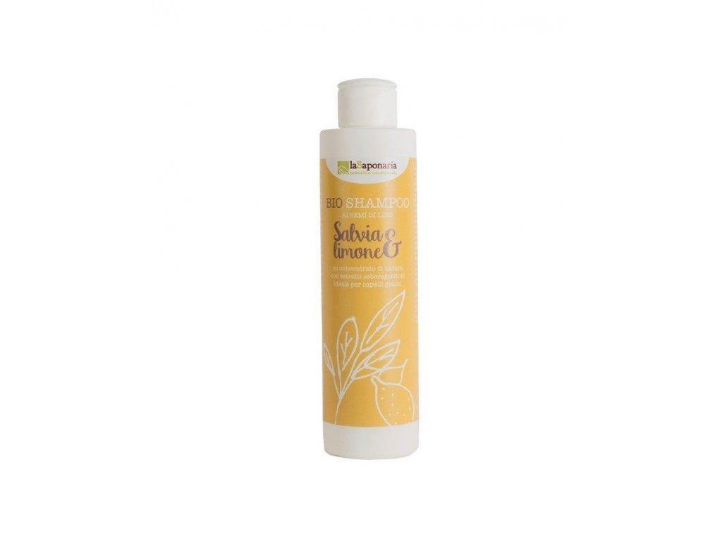Šampon se šalvějí a citrónem BIO