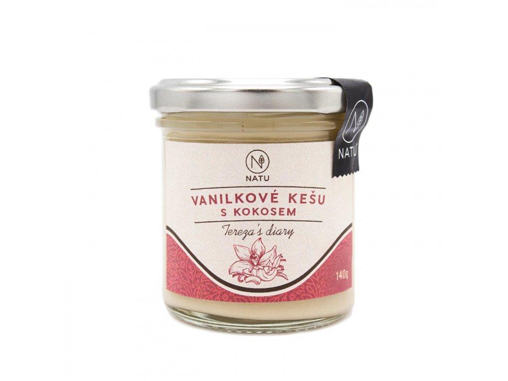 Vanilkové kešu s kokosem