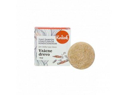 Tuhý šampon s kondicionérem Vzácné dřevo