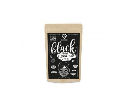 Black Face mask jílová maska