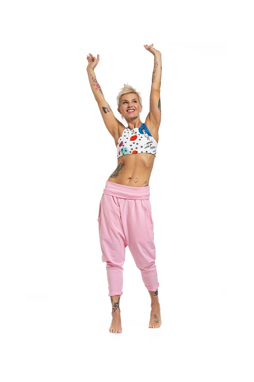 puravida teplaky dance sweet pink 01