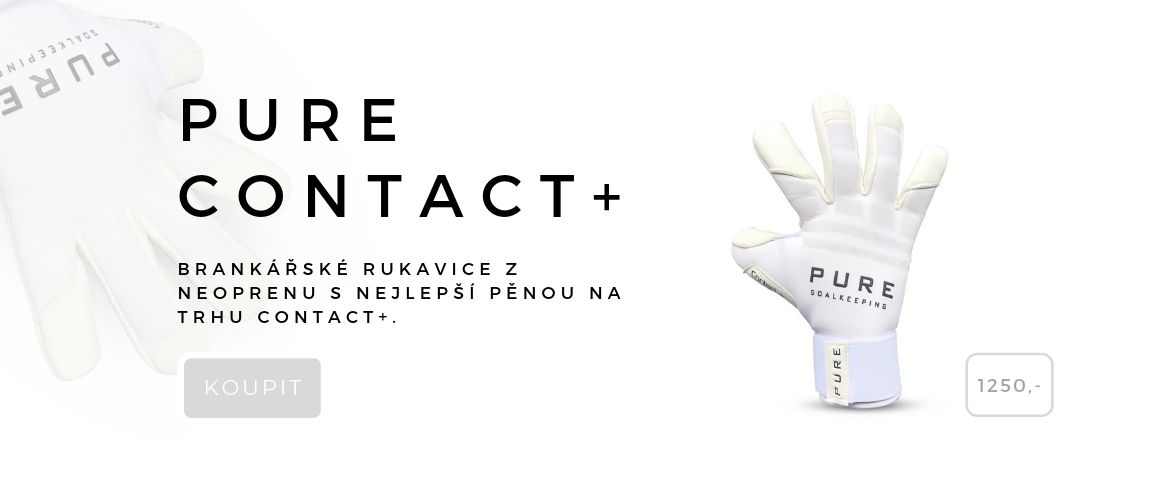 Brankářské rukavice pure contact+