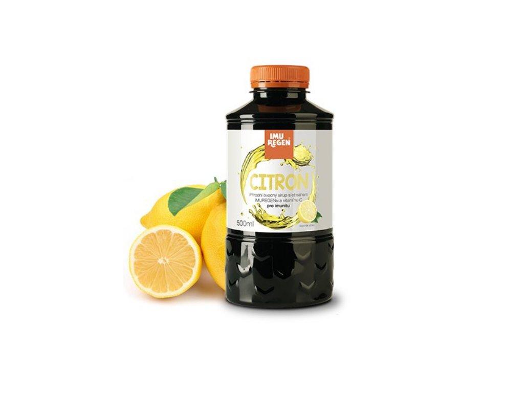 Ovocný sirup IMUREGEN citrón IMUREGEN E SHOP