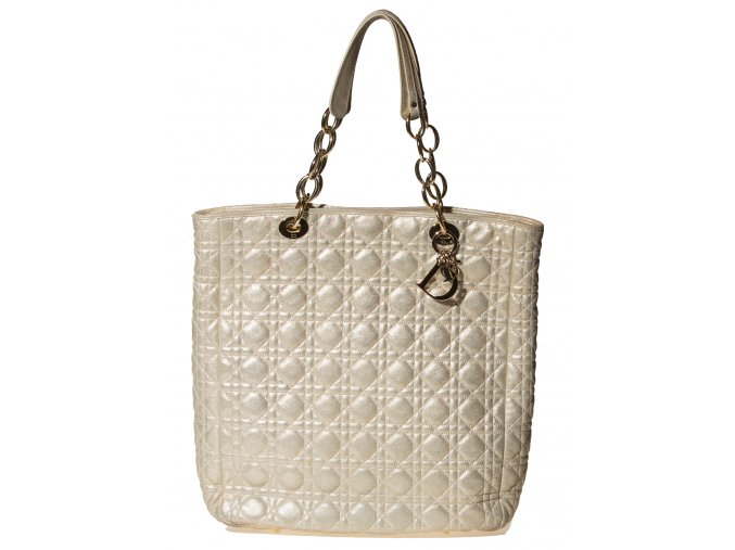 Dior CANNAGE SOFT SHOPPING TOTE Champagne