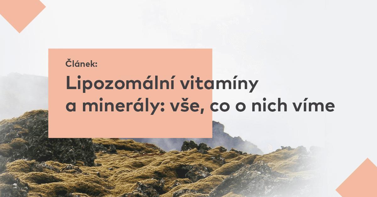 Lipozomální vitamíny a minerály: vše, co o nich víme