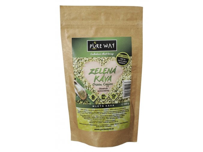 zelená káva green