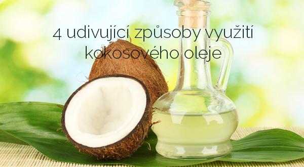 4 udivující způsoby využití kokosového oleje