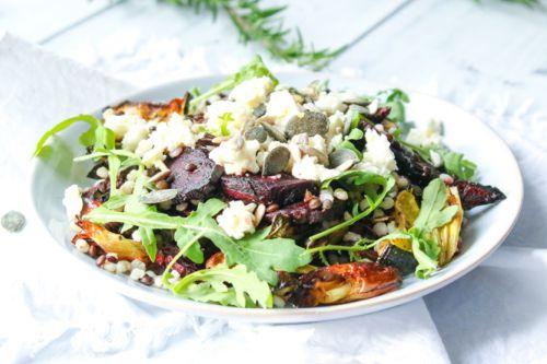 Křupavé jarní salátování