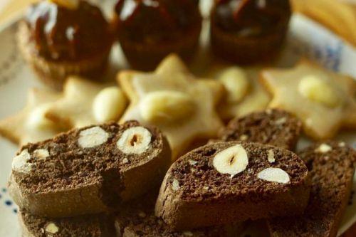 Špaldové čokoládové suchárky