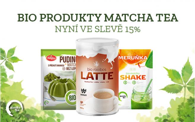 BIO produkty Matcha tea