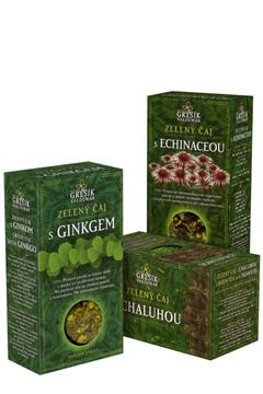 Zdravotní zelené čaje