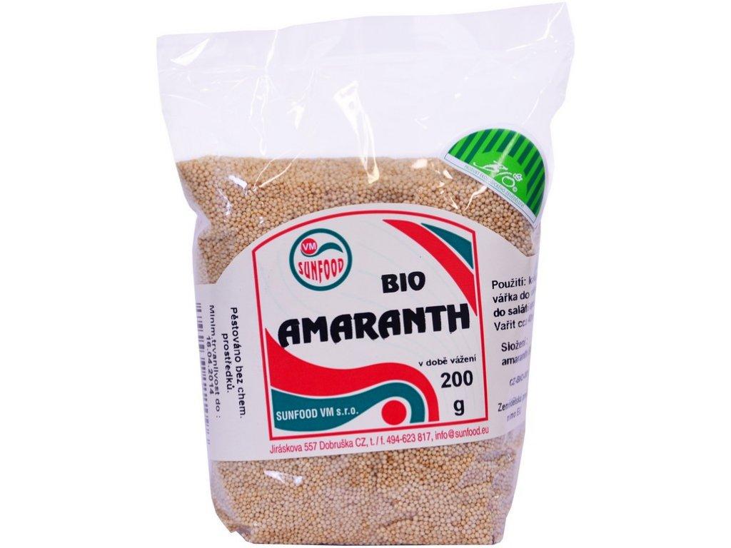 Bio Amarant 200 g Sunfood