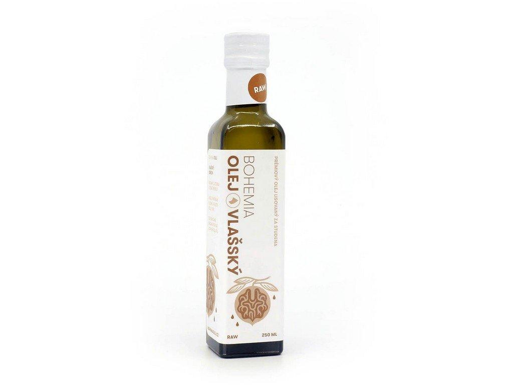 Olej z vlašských ořechů 250ml Bohemia olej