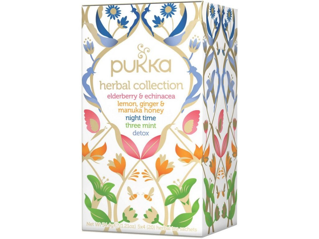 Bio čaj Herbal Collections 20x1,7g Pukka