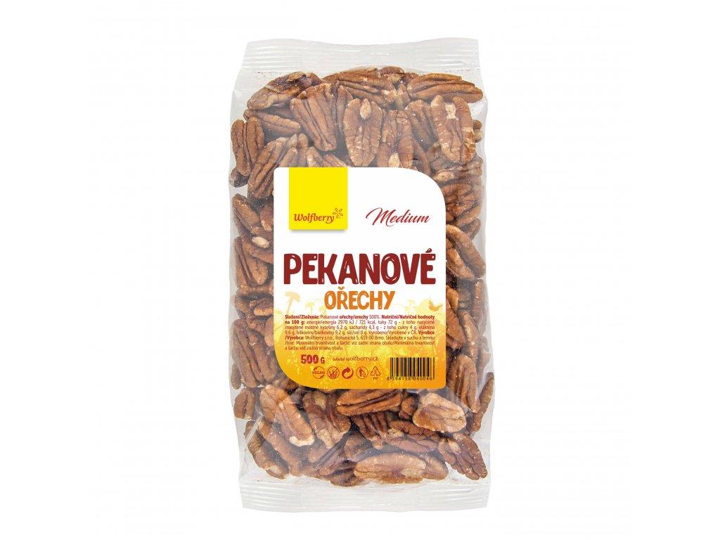 Pekanové ořechy medium 500 g Wolfberry