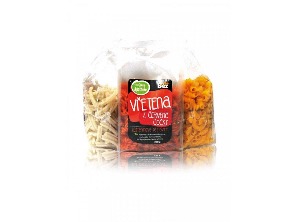 Green Apotheke Bezlepkové těstoviny akce 3+1 1kg