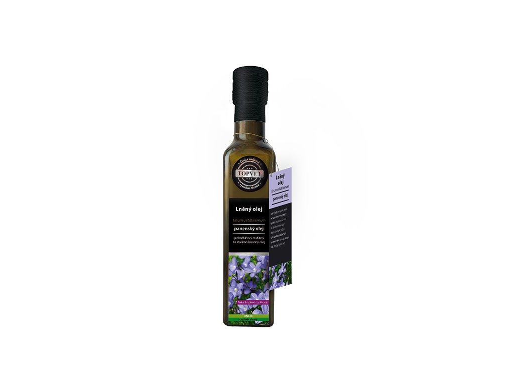 AKCE TOPVET Lněný olej 250ml