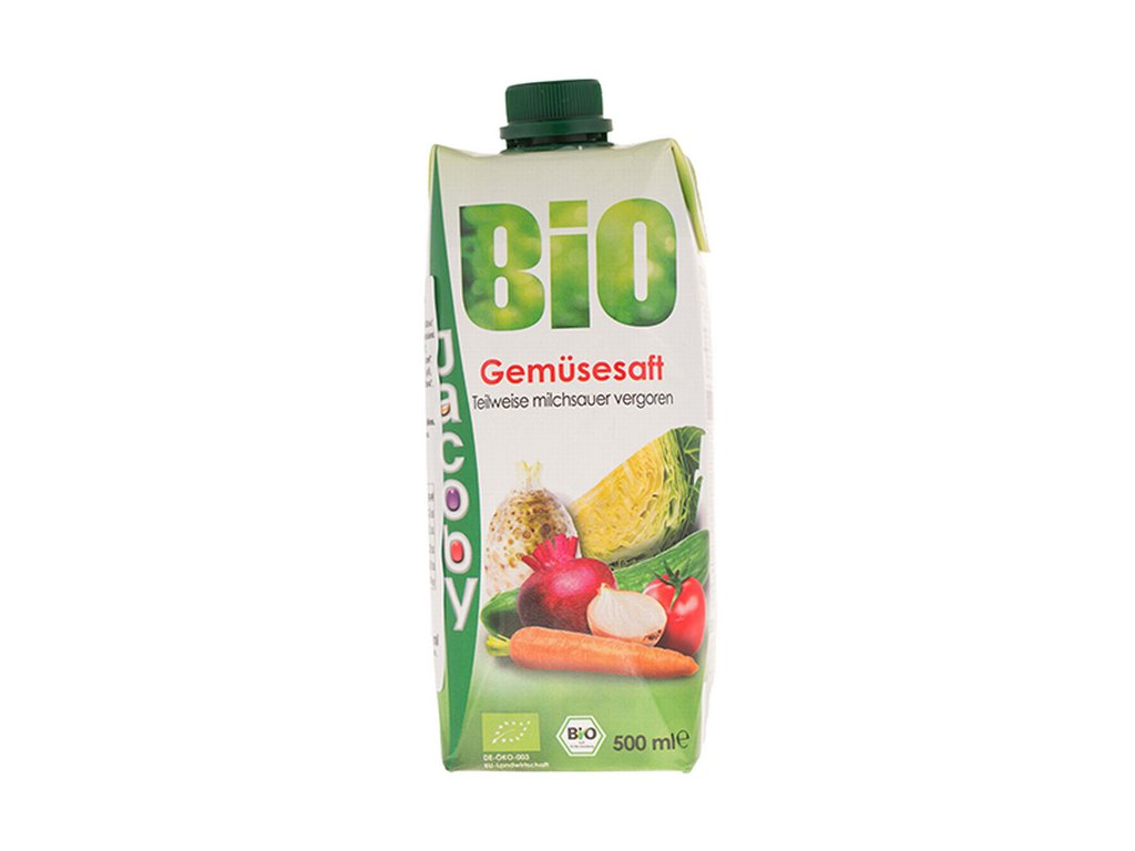 Zeleninový koktejl BIO 500 ml (Tetra Pack) Jacoby