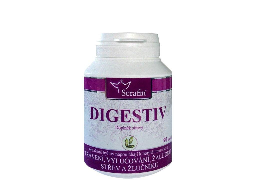 Digestiv přírodní kapsle