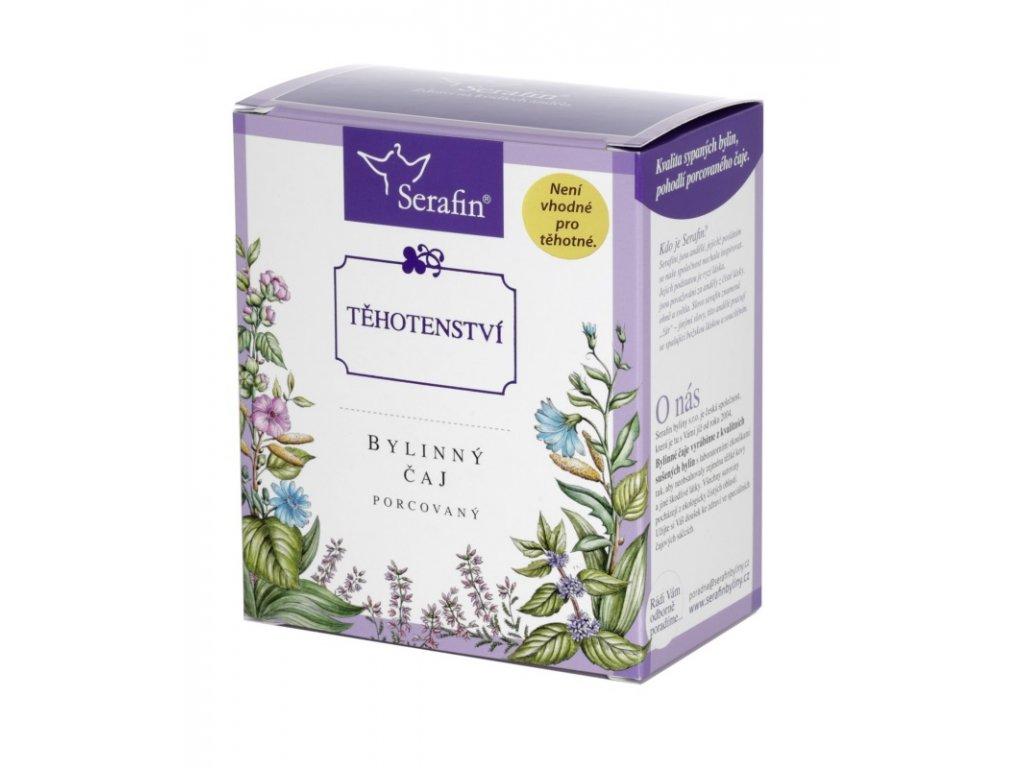 Těhotenství bylinný čaj porcovaný