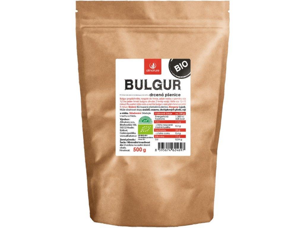 Bio Bulgur 500g Allnature