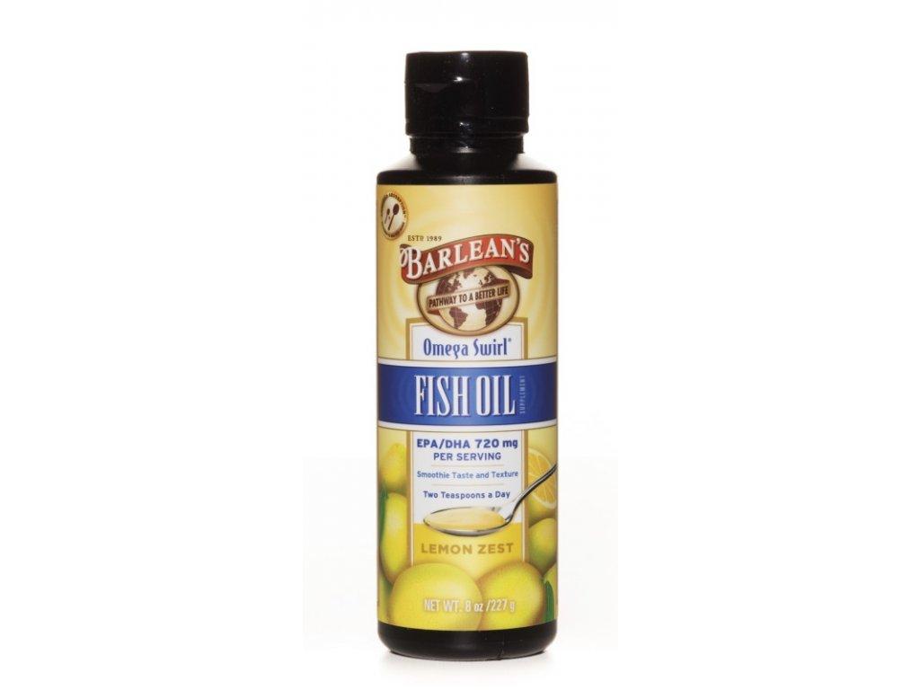 Omega 3 rybí olej s příchutí citrónu