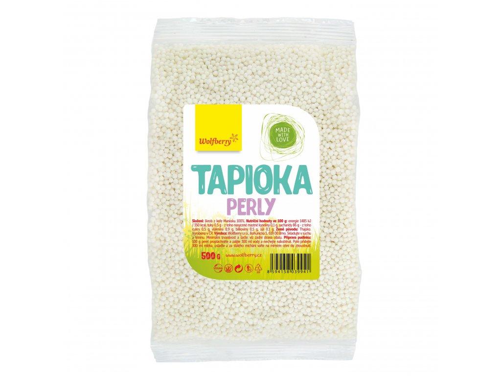 AKCE Tapioka perly 500 g Wolfberry