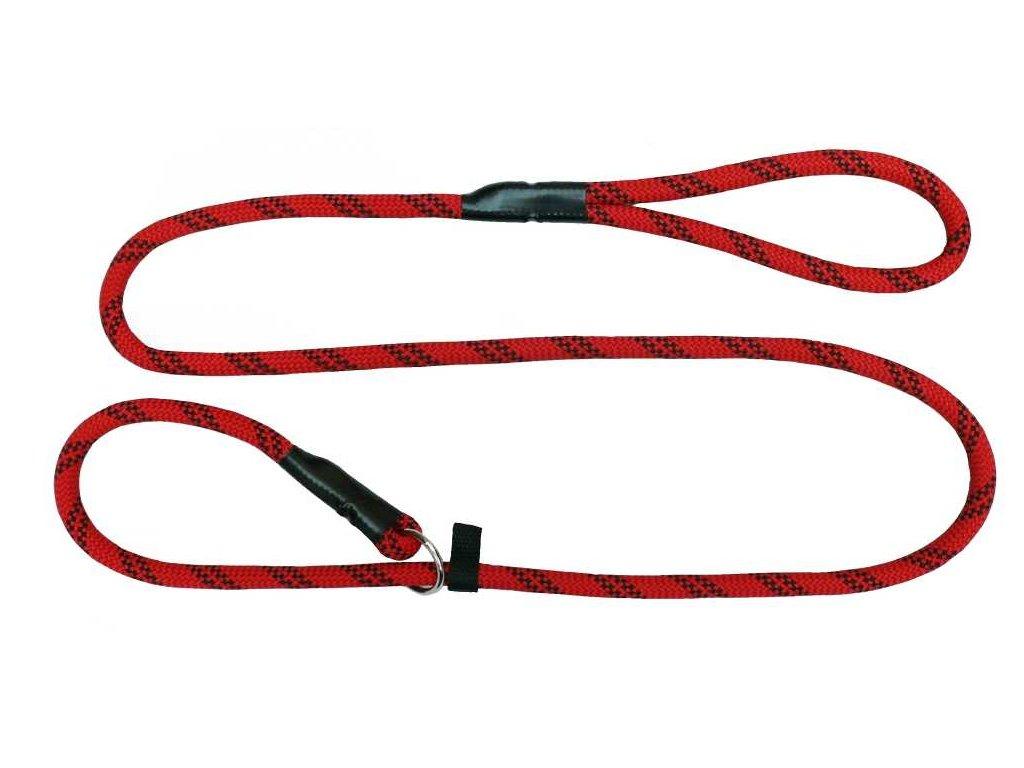 Vodítko lano stahovací obojek různé dekory 12