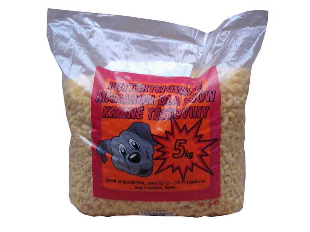 Těstoviny světlé kolínka 5 kg