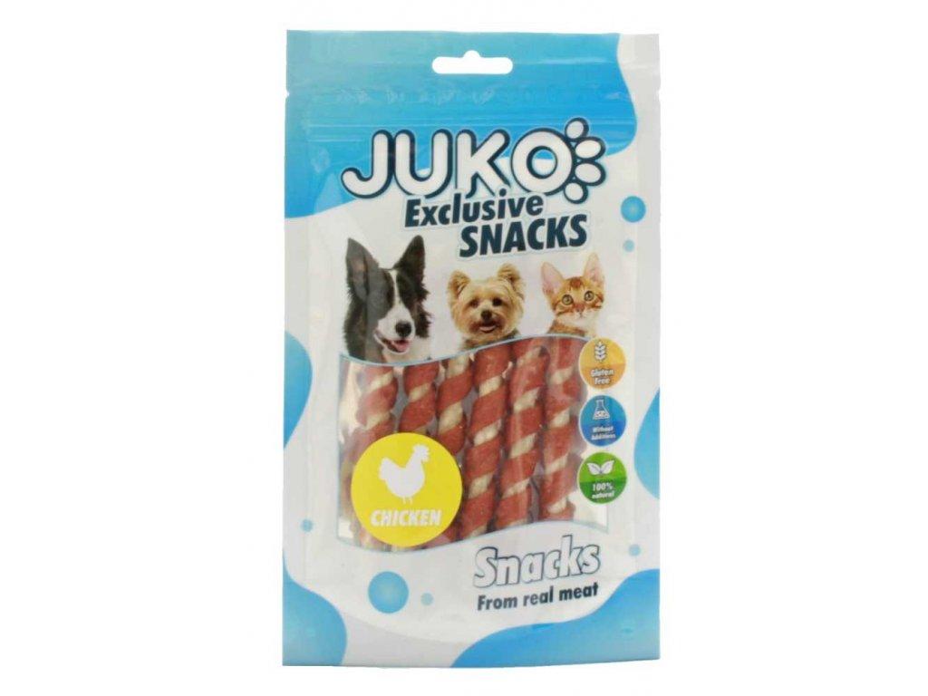 JUKO SNACKS Chicken wrap munchy stick 70 g