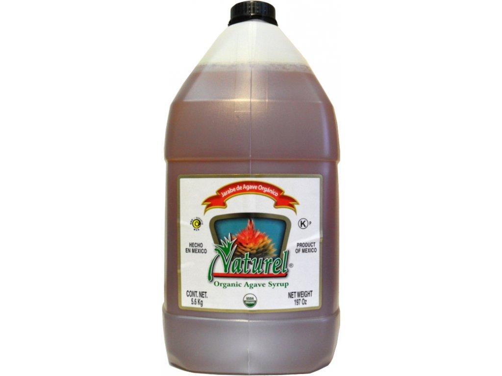 Bio sirup z agáve světlý 4000ml Bionebio