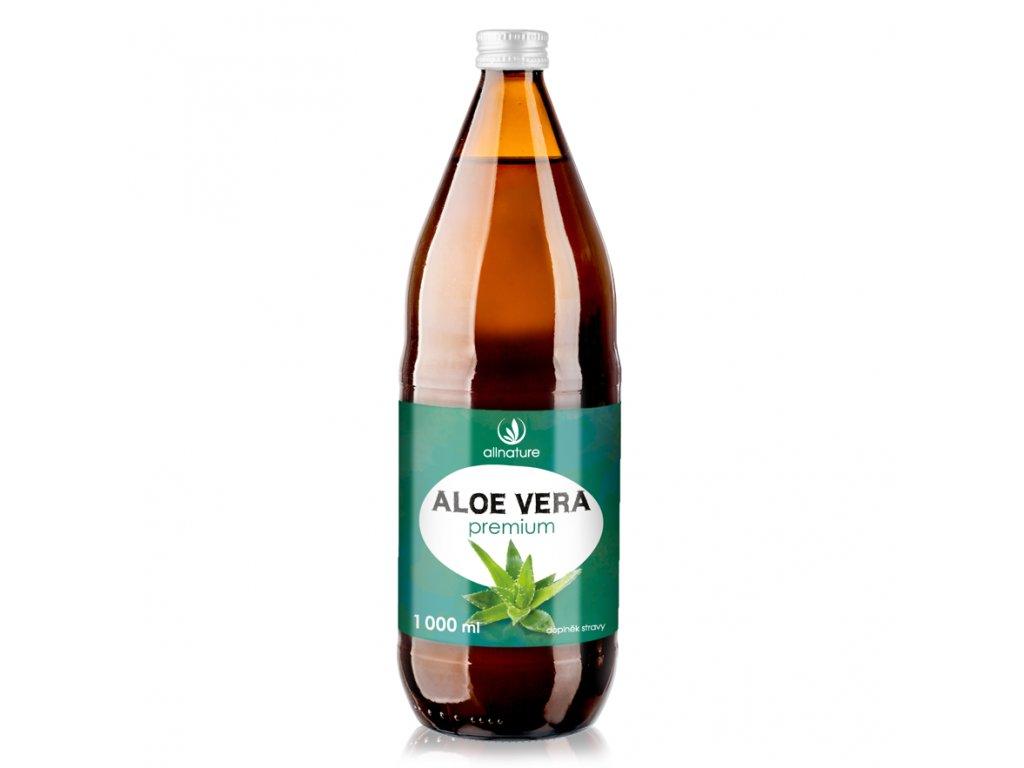 Akce Allnature Aloe Vera Premium šťáva 1000 ml