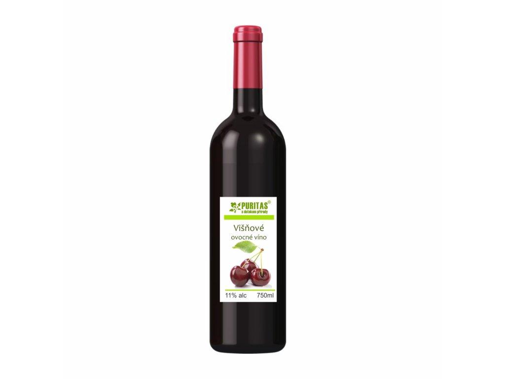 Višňové víno 750ml