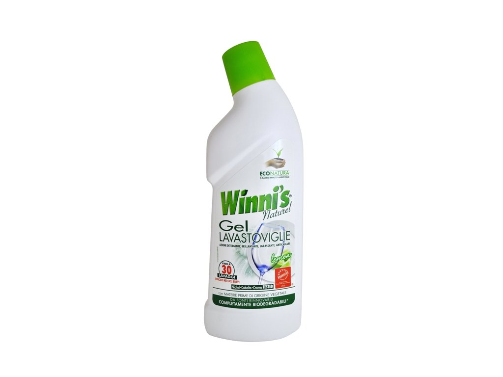 Winni´s Gel Lavastoviglie 750ml gel do myčky