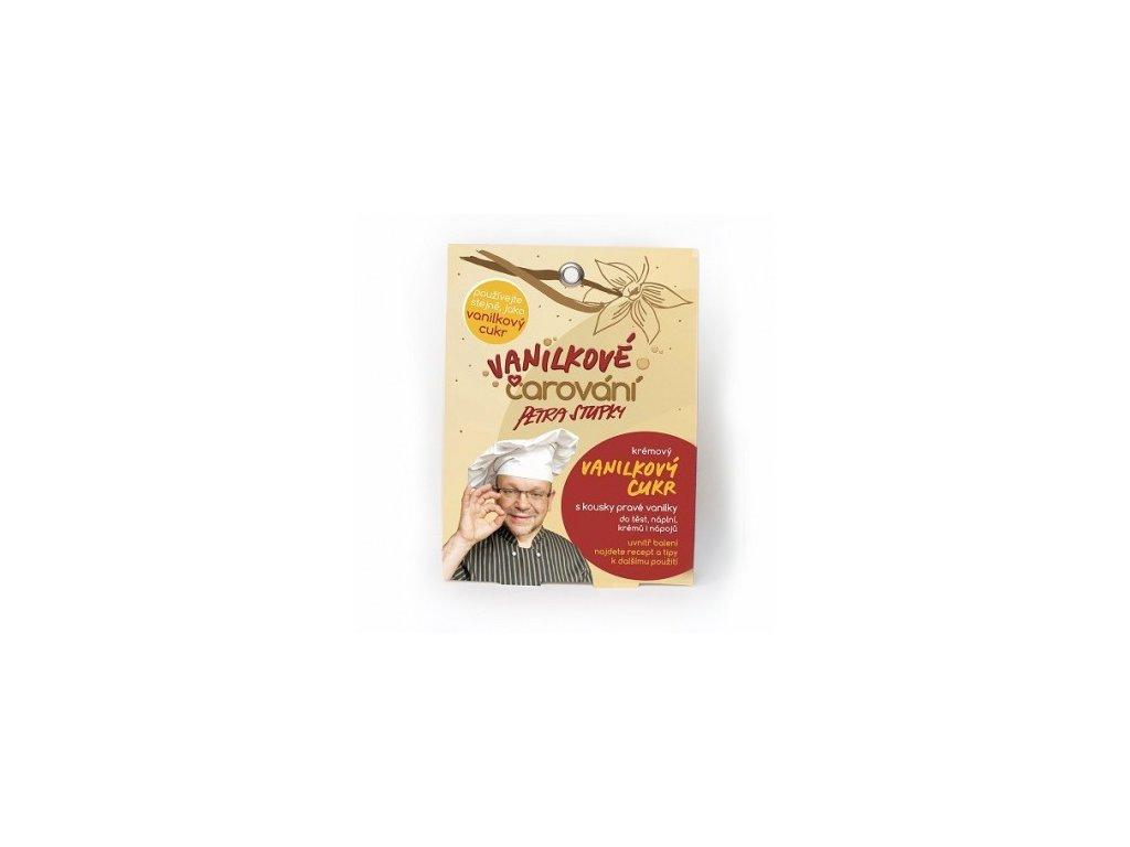 Vanilkové Čarování - koření kulinář - krémový vanilkový cukr 104g (4x26g)