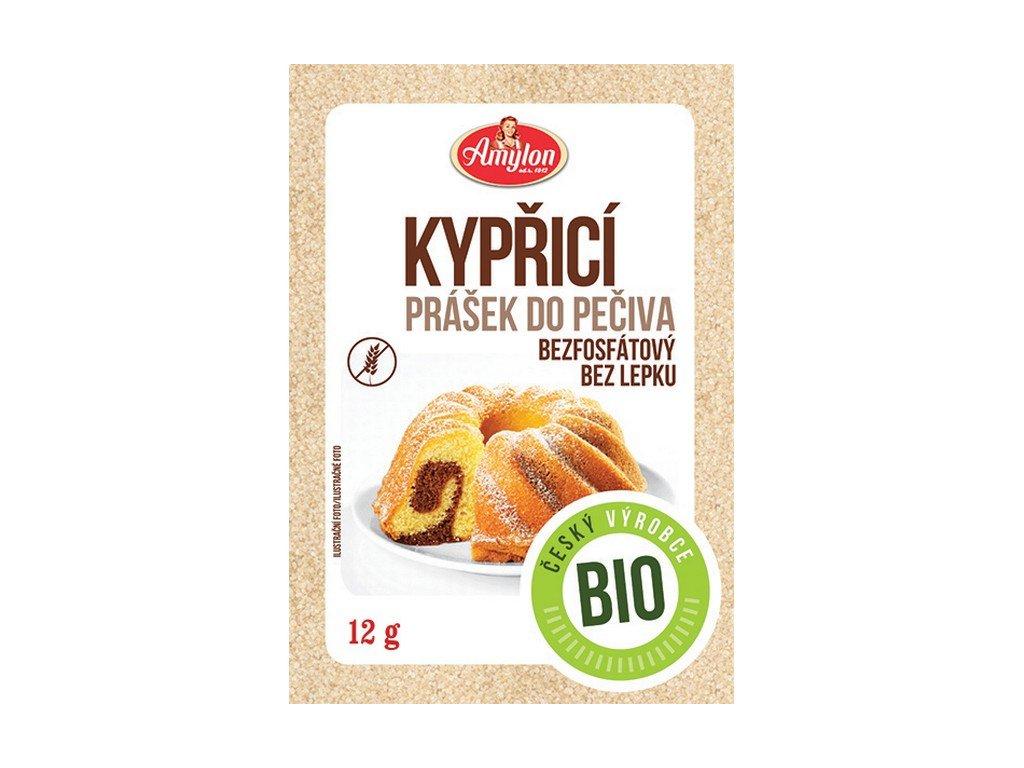 Akce Kypřicí prášek do pečiva 12 g BIO AMYLON