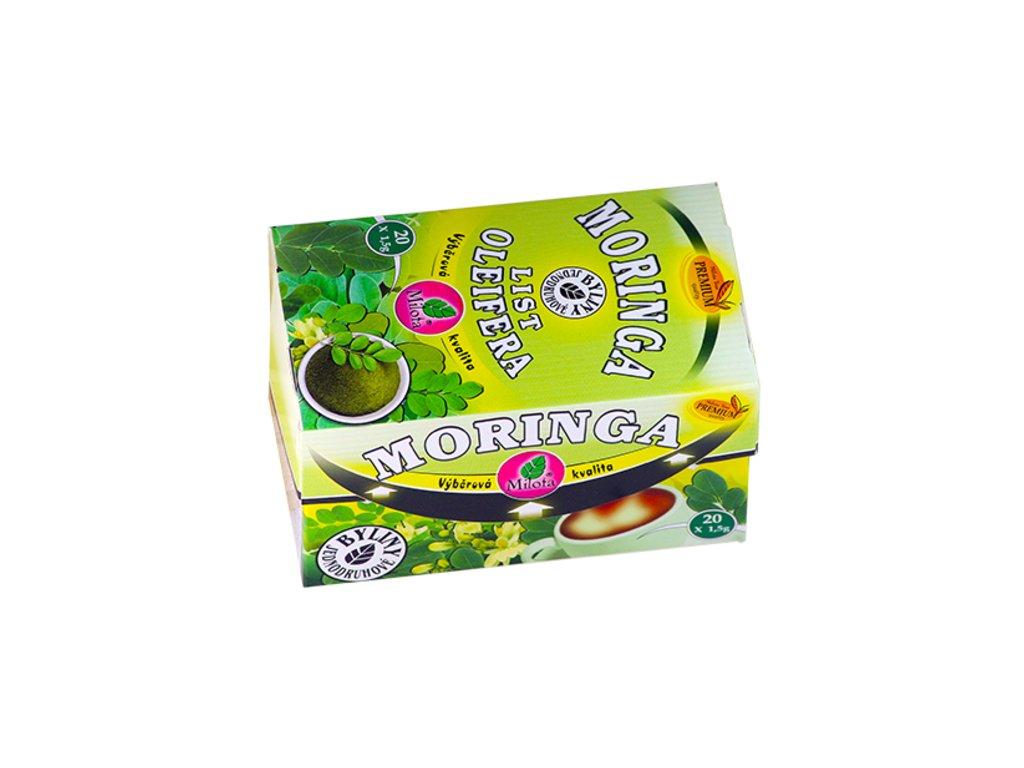 Moringa oleifera list 30g(20x1,5g) Moringa oleifera folium plv.
