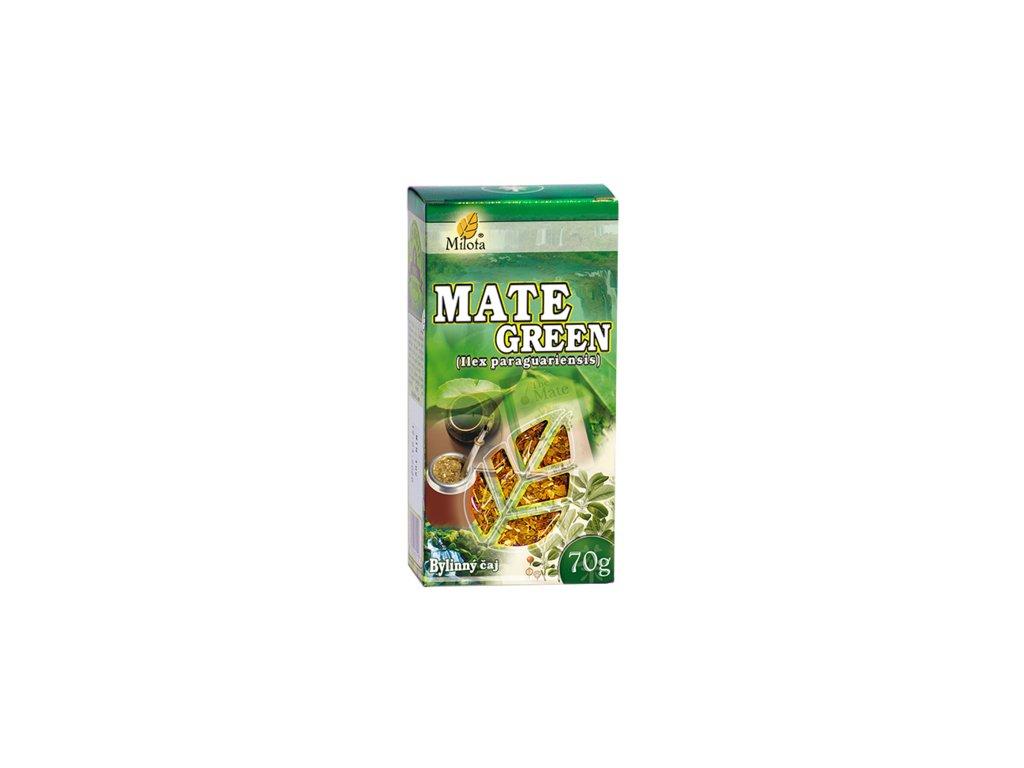 Mate green (Yerba mate) 70g Cesmína paraguajská list řez.