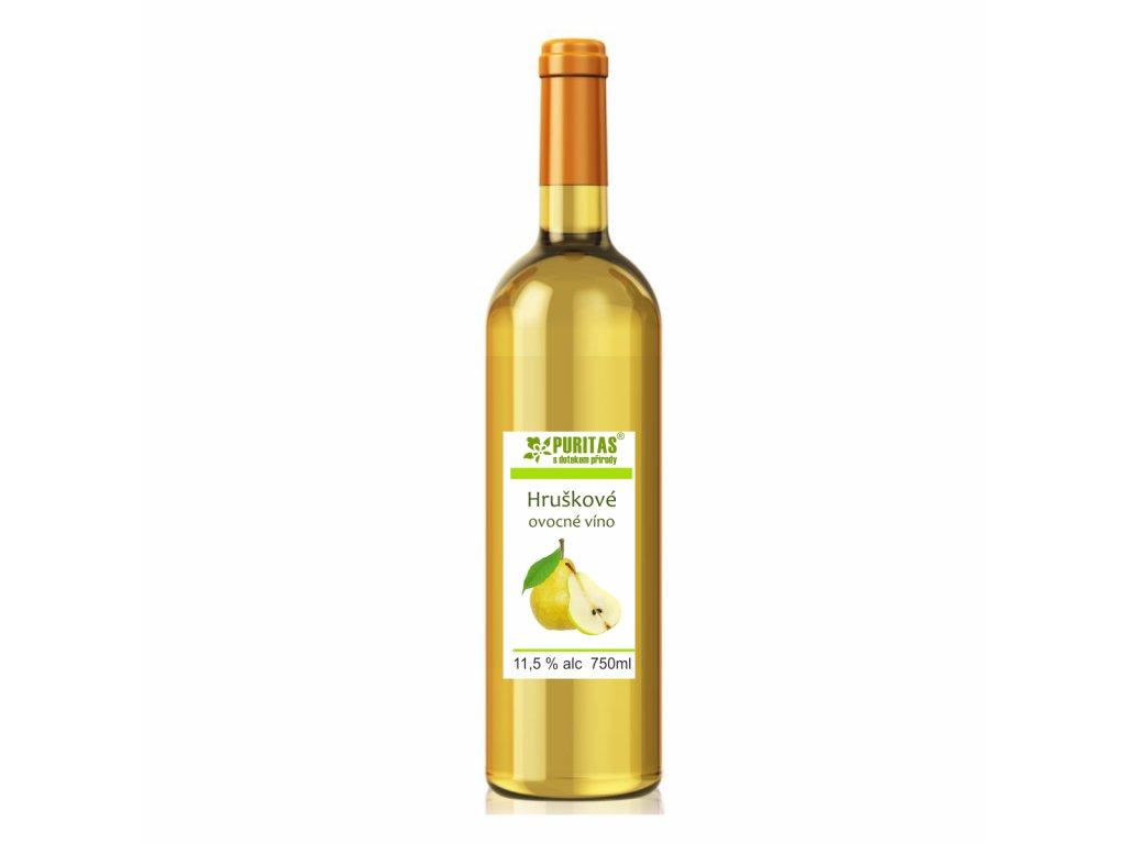 hruškové víno