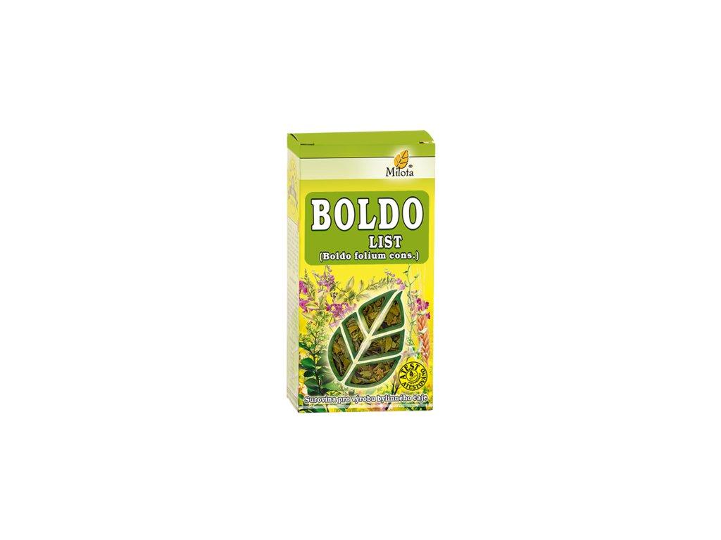 Boldo list 50g Peumus boldus folium cons.