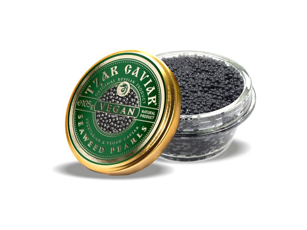 """Gourmet Partners Tzar Delicates """"VEGAN"""" Caviar Alternative - sklenice, 105g"""