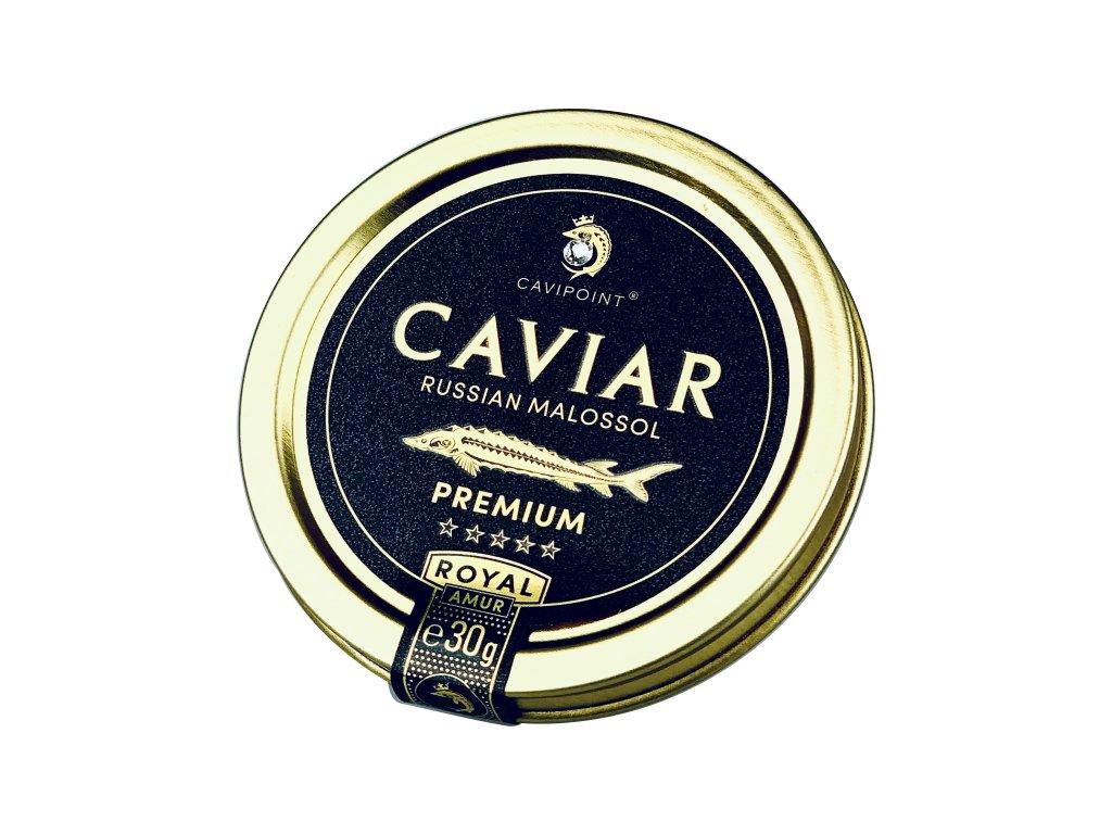 AMUR ROYAL - PREMIUM sturgeon caviar, 30g tin