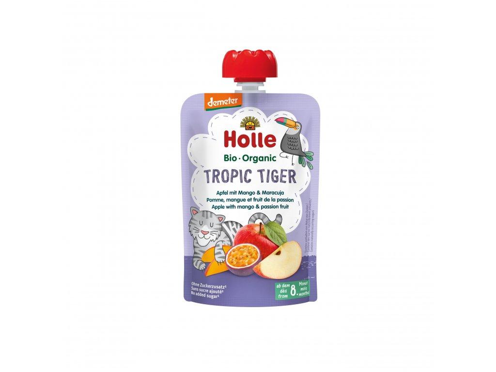 AKCE Ovocné pyré - TROPIC TIGER BIO pro děti 100 g Holle