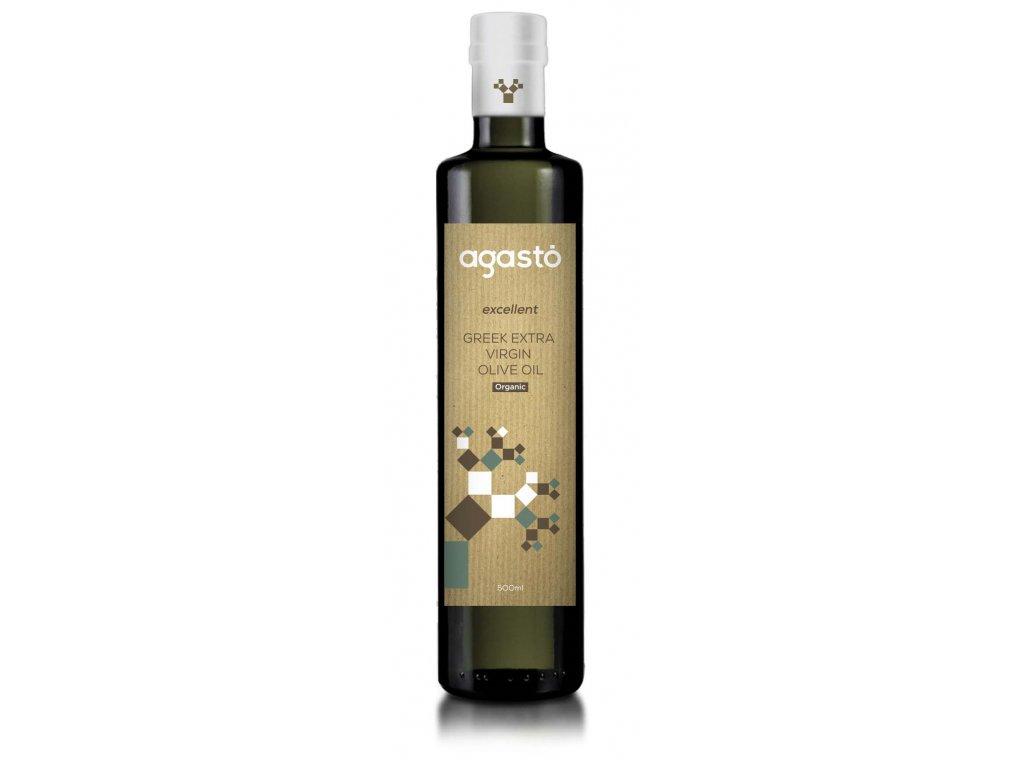 Akce Extra panenský BIO olivový olej 500ml AGASTO