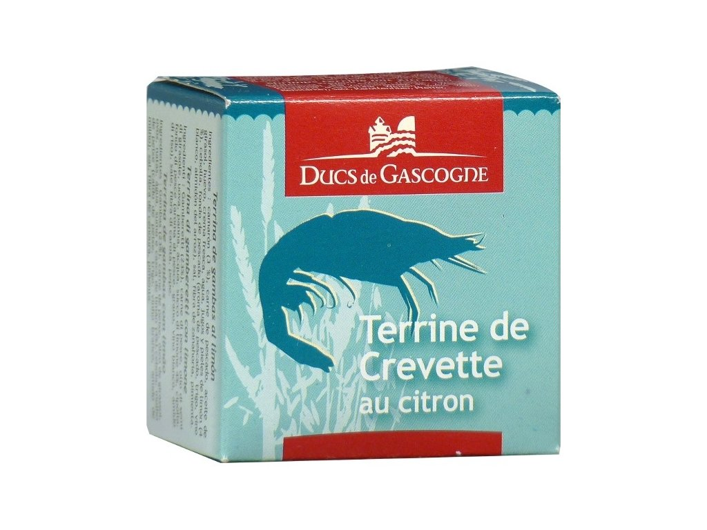 Ducs de Gascogne Terina z krevet s citronem, 65g