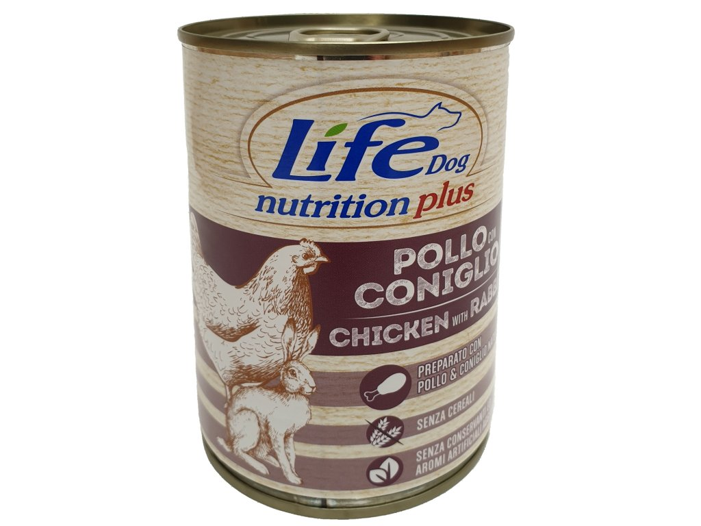 LifeDog Chicken and Rabbit 400 g
