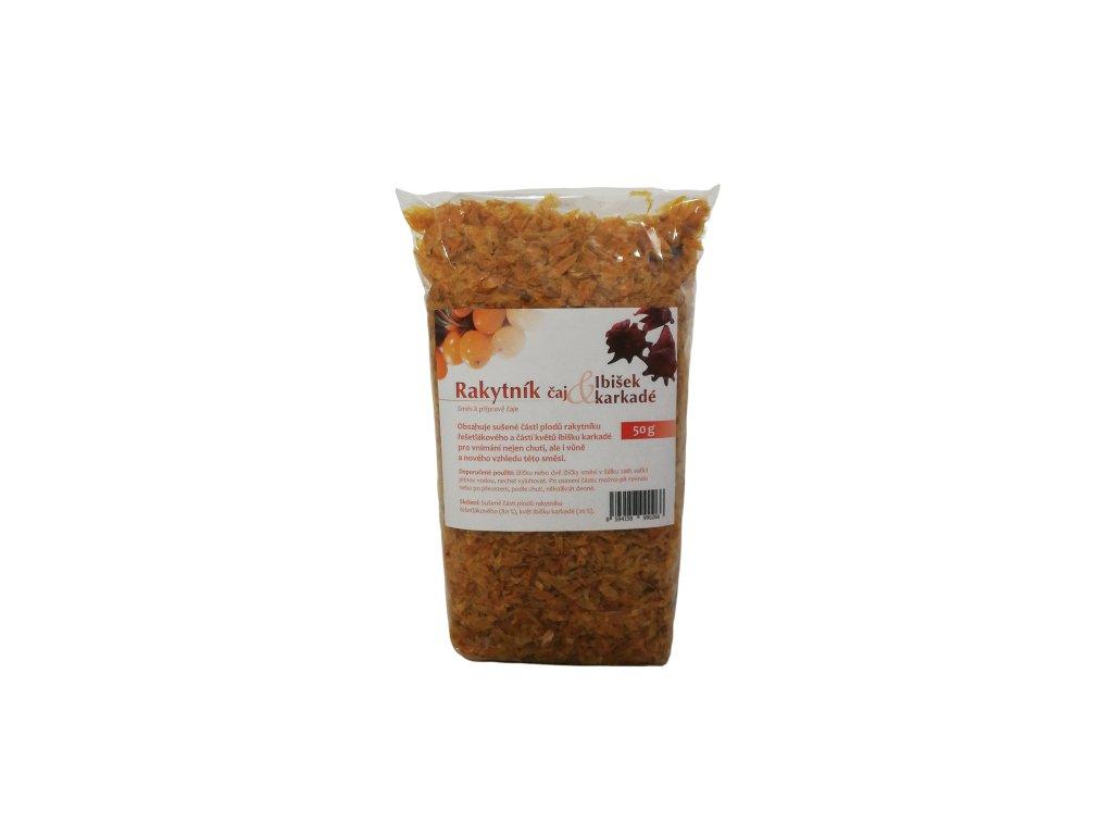 Rakytníkový čaj + Ibišek karkadé (50 g) SEVAK