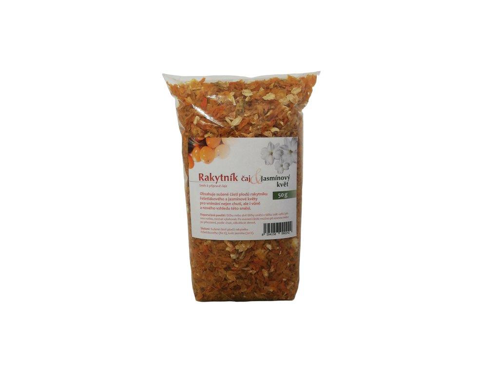Rakytníkový čaj + Jasmínový květ (50 g) SEVAK