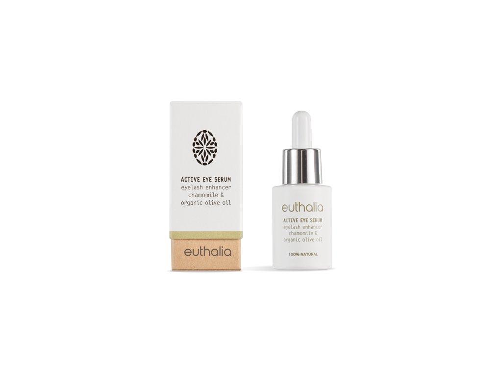 Akce Euthalia Natural Cosmetics Values Aktivní přírodní oční sérum 15ml EUTHALIA